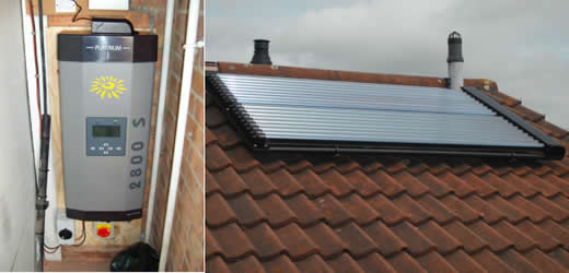 solar thermal and solar PV in Bromley