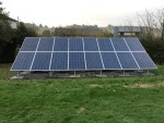 Ground Mounted 4 KWP Solar PV
