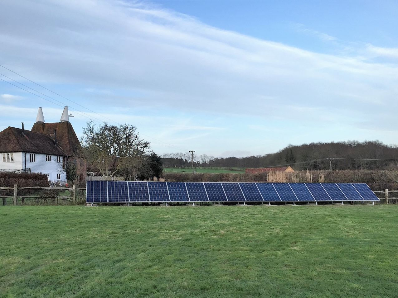 Ground Mounted PV in Kent