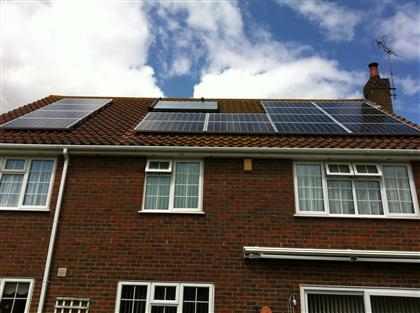 Solar Thermal and Solar PV panels installed in East Sussex