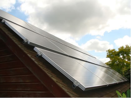 Photovoltaics for a family home