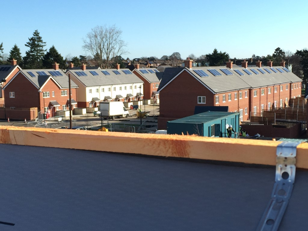 Solar PV on New housing Estate