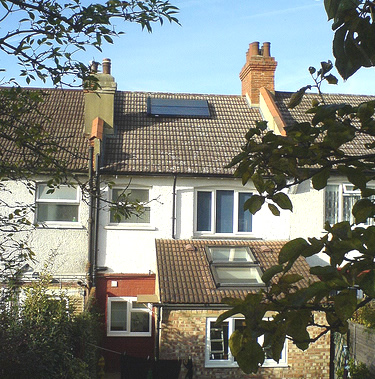 Solar thermal installation, Thornton Heath